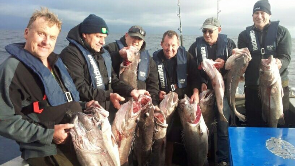 Rod father fishing charters kaikoura new zealand for Best day to fish
